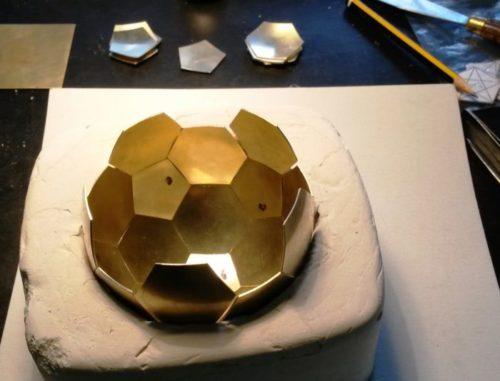 Fußball aus Gold