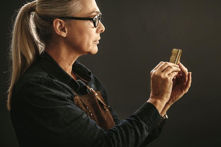Altgold-Ankauf Feingoldbarren